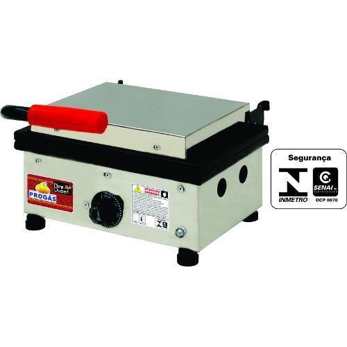 Sanduicheira Grill Elétrica PR 350 NEW 30 X 30 Progás 220V
