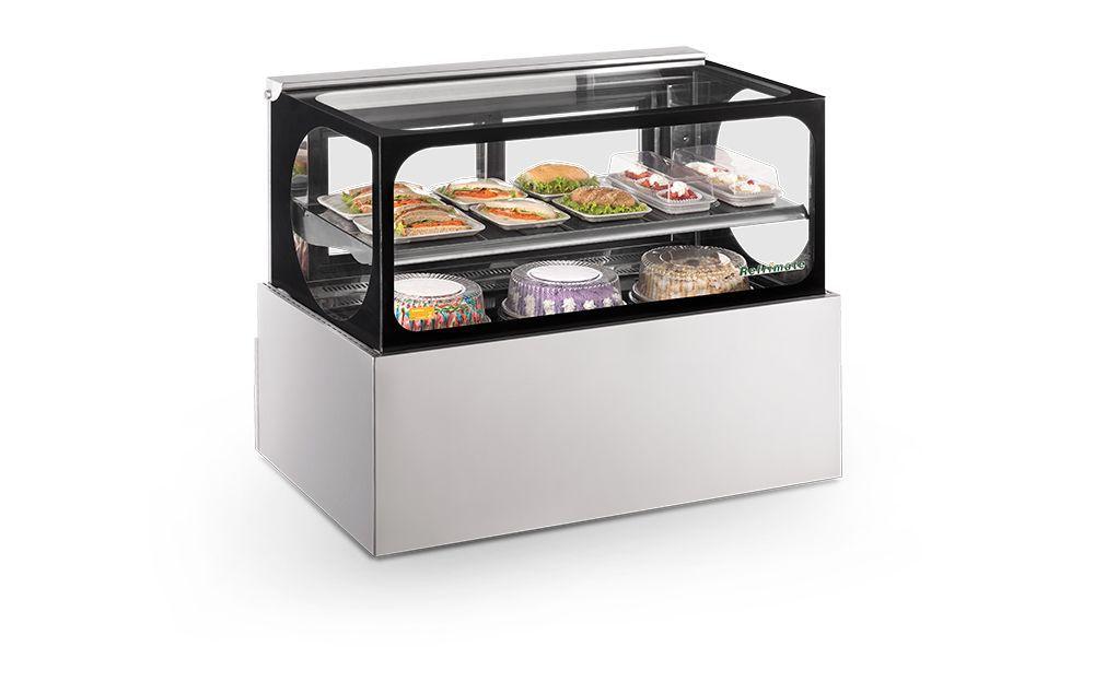 Vitrine Confeitaria Show Case Platinum Refrigerada VRSPC 1000