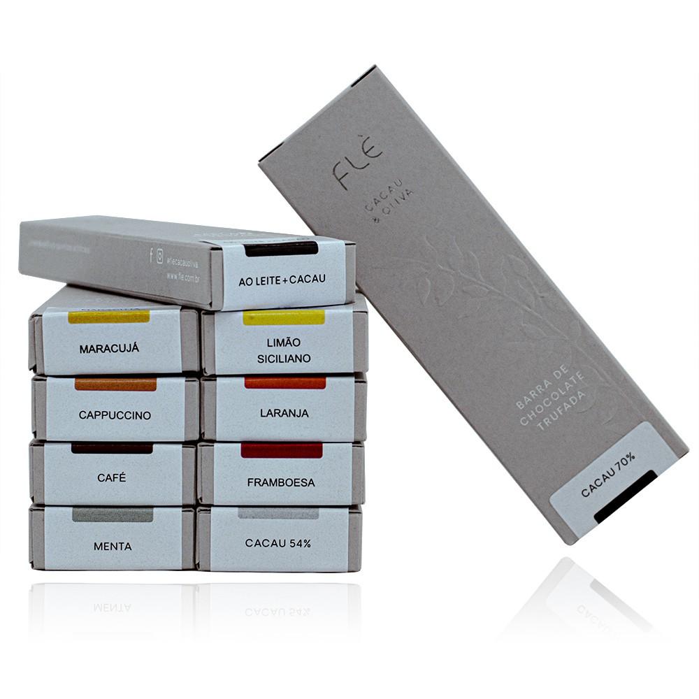 Kit de Barras Trufadas - 10 unidades