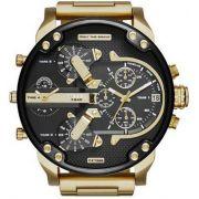 4d741565976 Relógio Diesel Dz7333 Mr. Daddy 2.0 Aço 56mm Dourado