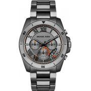 004a1bd345f Relógio Michael Kors Masculino Brecken Mk8465 Chumbo