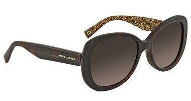b37c9887edf38 Óculos de Sol Marc Jacobs Marrom Gradiente MARC 261   S 0DXH LA 56 - New ...