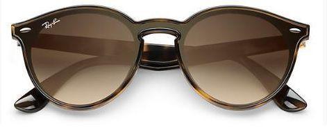 bbf9f9132662a ... Óculos de Sol Ray Ban RB2180 Tartaruga Lente Marrom Degrade - New Store  ...