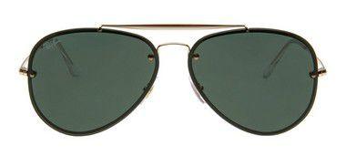 b76a50e6012 Óculos De Sol Ray Ban Rb3584 Blaze Aviador Preto Lente Preta - New Store ...