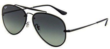 acba5bc783506 Óculos De Sol Ray Ban Rb3584 Blaze Aviador Preto Lente Preta - New Store ...