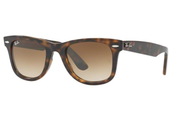 705a71678 Óculos De Sol Ray Ban Wayfarer Rb2140 902/50 Tartaruga Lente Marrom