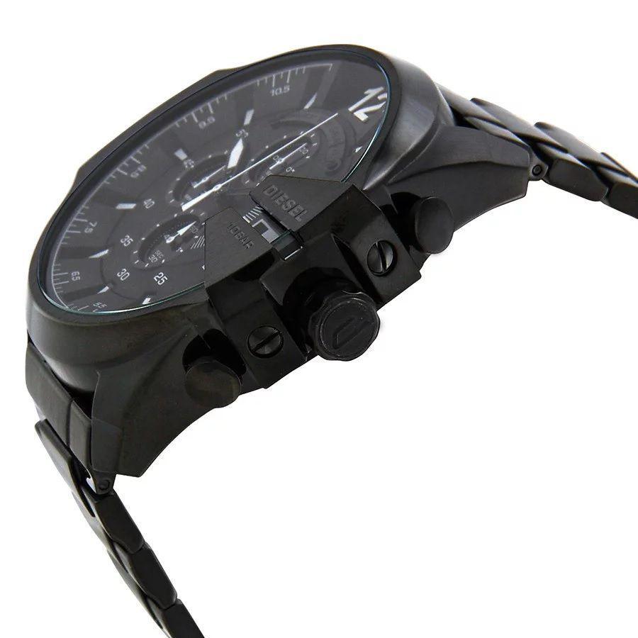 93537ac7889 ... Relógio Diesel Dz4283 Mega Chief Preto Detalhe Branco - New Store ...