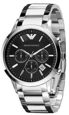 8c3f0296e Relógio Emporio Armani AR2434 Dial Preto