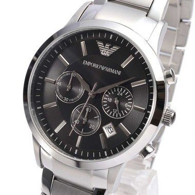 c26494ebf Relógio Emporio Armani AR2434 Dial Preto