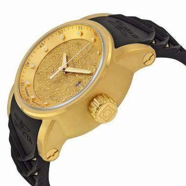48a2baf0970 ... Relógio Invicta S1 Yakuza 19546 Automático Branco Dourado - New Store  ...