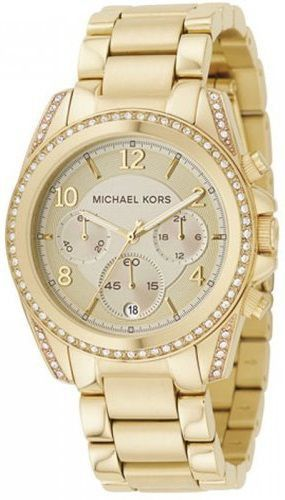 21435fe1d43 ... Relógio Michael Kors Mk5166 Golden Blair Glitz - New Store ...