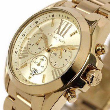 172610778 Relógio Michael Kors Mk5605-z Dourado