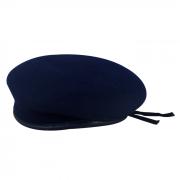 Boina Militar 2 Azul Marinho 100% Feltro de Lã