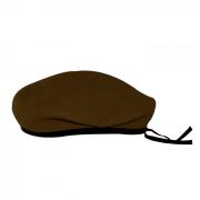 Boina Militar I Marrom Feltro