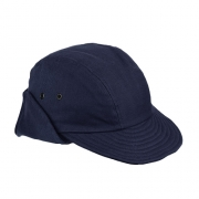 Boné Pescador com Folho e Proteção de Nuca Azul Marinho II