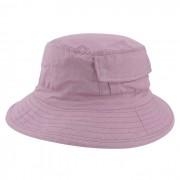Chapéu Bucket 2 com bolso Street Style Tecido Leve Rosa
