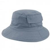 Chapéu Bucket 2 com bolso Street Style Tecido Leve Cinza Claro