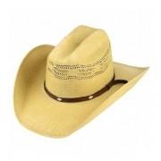 Chapéu Country Bangora Marrom com Renda Aba de 9 cm