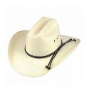 Chapéu Country Super Fino Branco Aba de 8  cm