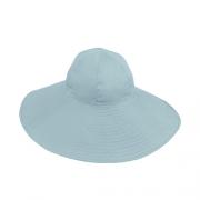 Chapéu Floppy Feminino Renata Azul Claro Aba Grande Verão