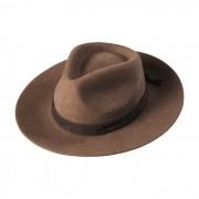 Chapéu Gaúcho Tropeiro Lã Castor Aba 7 cm
