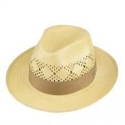 Chapéu Rock Santeiro Shantung Renda Amarelo Aba 7 cm