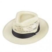 Chapéu Social Bangora Branco Aba 5cm