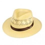 Chapéu Social Shantung Amarelo Renda Aba 5cm