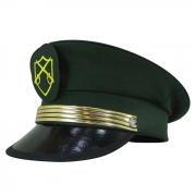Quepe Militar Modelo Exercito Com Detalhe Dourado e Brazão