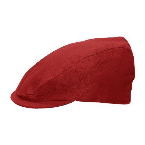 Boina Italiana Trapani Verão Vermelha