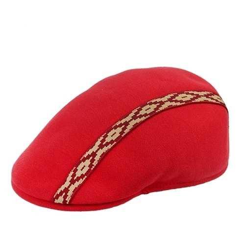 Boina Masculina Inglesa Pampa Vermelha