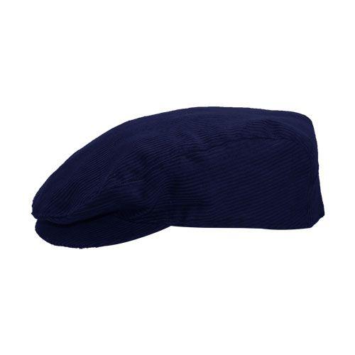 Boina Masculina Tradicional  Azul Marinho Veludo Inverno