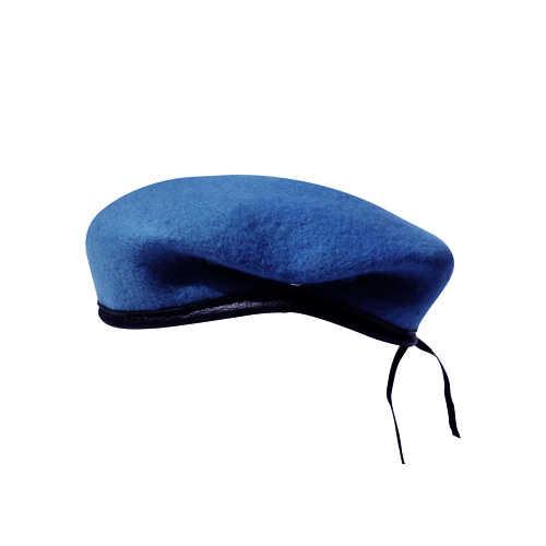 Boina Militar I Azul Celeste