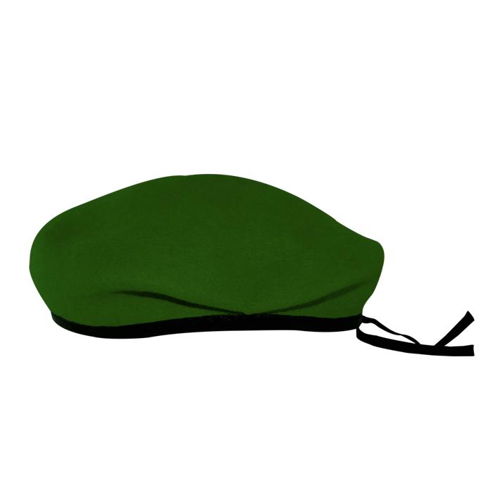 Boina Militar I Verde Feltro