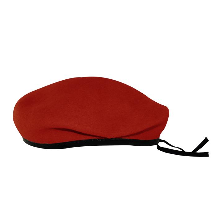 Boina Militar I Vermelha Feltro
