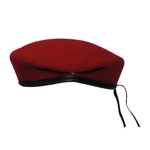 Boina Militar I Vermelho Cardeal