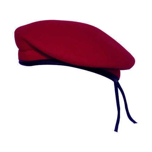 Boina Militar II Vermelho Cardeal