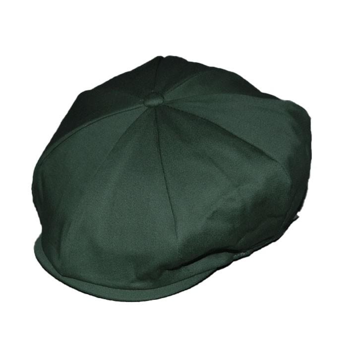 Boina Peaky Blinders 8 Gomos Gavroche Verde Verão