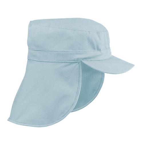 Boné Pescador com Folho e Proteção de Nuca Azul Claro I