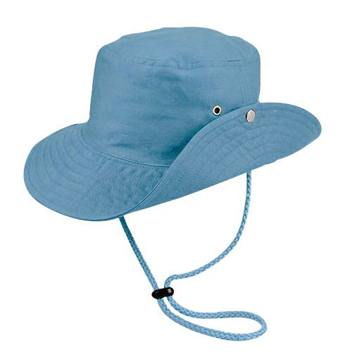 Chapéu Australiano Trilha Azul Claro Tecido Leve San Doná REF.: 039.00.06.090