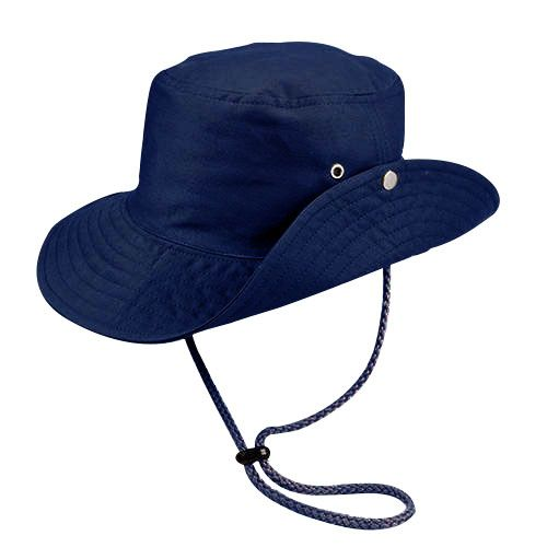 Chapéu Australiano Trilha Azul Marinho Tecido Leve San Doná REF.: 039.00.06.024