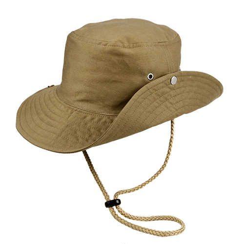 Chapéu Australiano Trilha Caqui Tecido Leve San Doná REF.: 039.00.06.057