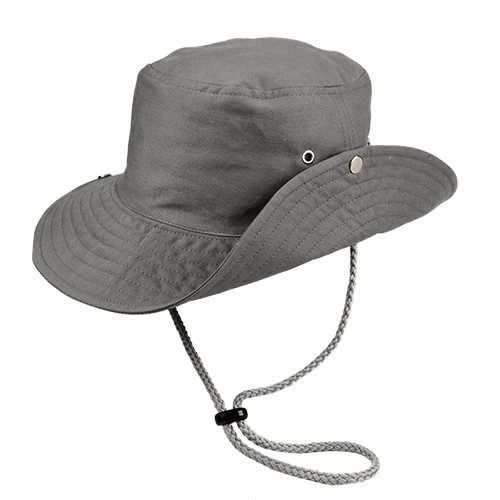 Chapéu Australiano Trilha Cinza Tecido Leve San Doná REF.: 039.00.06.046