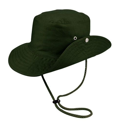 Chapéu Australiano Trilha Verde Tecido Leve San Doná REF.: 039.00.06.091