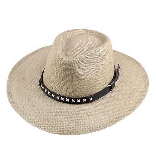 Chapéu Campeiro Country San Doná Juta Natural ABA 9cm