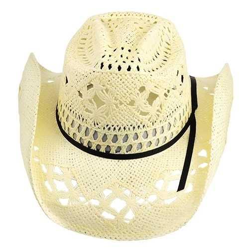 Chapéu Country Cavaleiro I Big Brother Branco Aba 9 cm Quebrada
