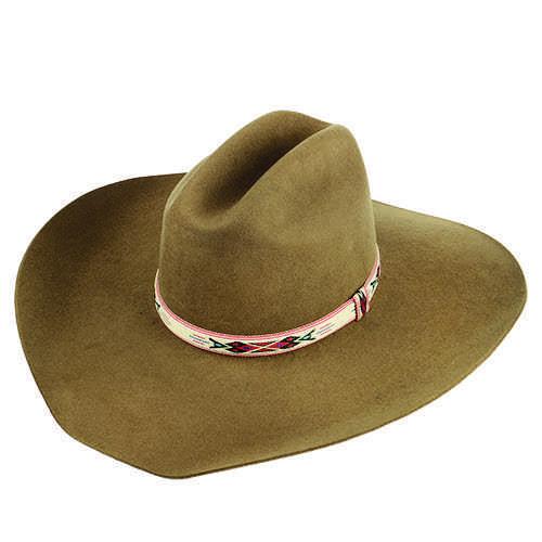 Chapéu Country de Lã Castor Aba de 12 cm