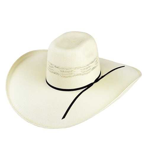 Chapéu Country Top Bull Aberto Bangora Branco Aba 13 cm