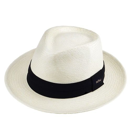 Chapéu Diamante Panamá Importado Clássico Aba 6cm cor Natural