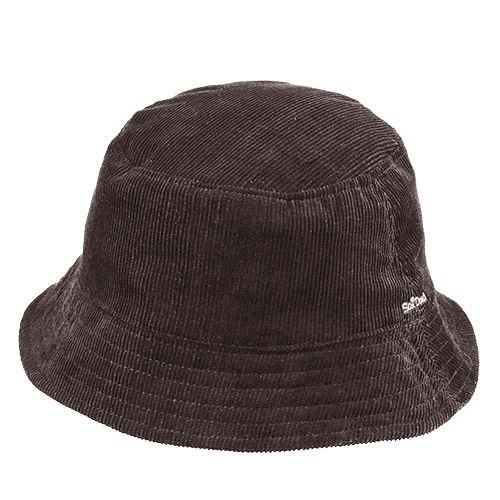 Chapéu Fashion Marrom Veludo
